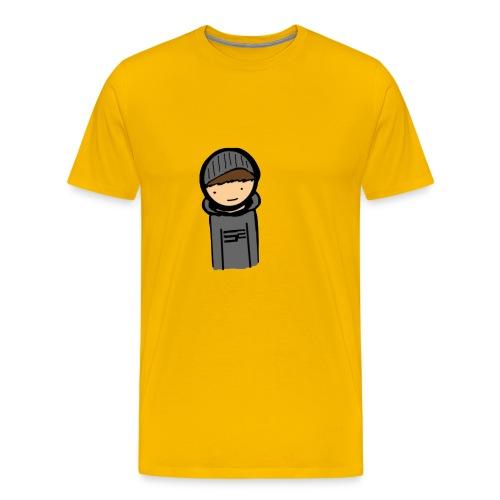 Popptejt - Mannen Premium T-shirt