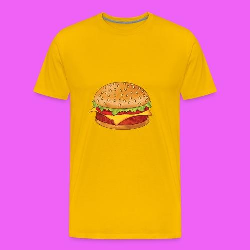 hamburguesa - Camiseta premium hombre