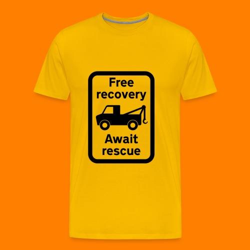 free recovery - Men's Premium T-Shirt