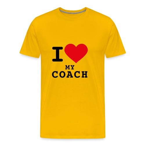 CMG Coach Love - T-shirt Premium Homme