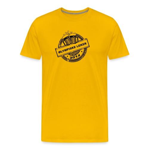 logo gif - Premium T-skjorte for menn