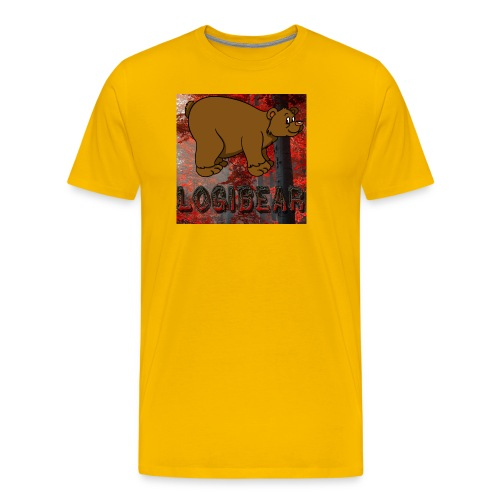 Male Logi Bear Shirt - Men's Premium T-Shirt