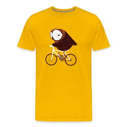 Cycling Owl - Männer Premium T-Shirt