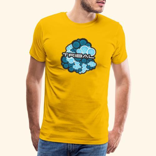 TRIBAL BLUE - Männer Premium T-Shirt