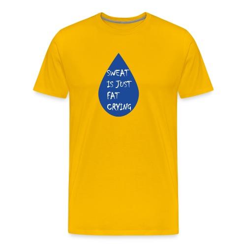 Funny fitness quote - Men's Premium T-Shirt