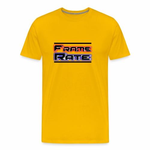 TFRLogoWhite AlphaNoCircle - Men's Premium T-Shirt