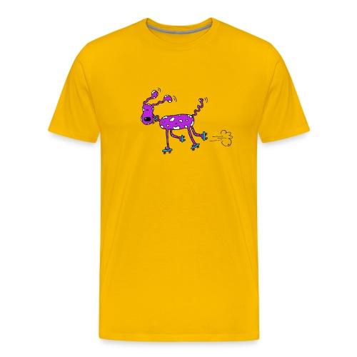 afbeelding rollerhondx copy - Mannen Premium T-shirt