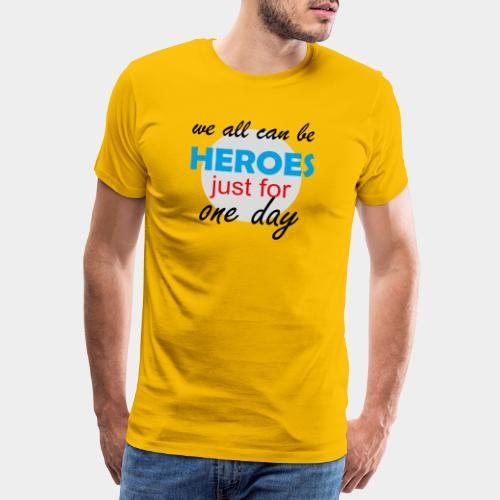 GHB Hero Zero 19032018 2 - Männer Premium T-Shirt