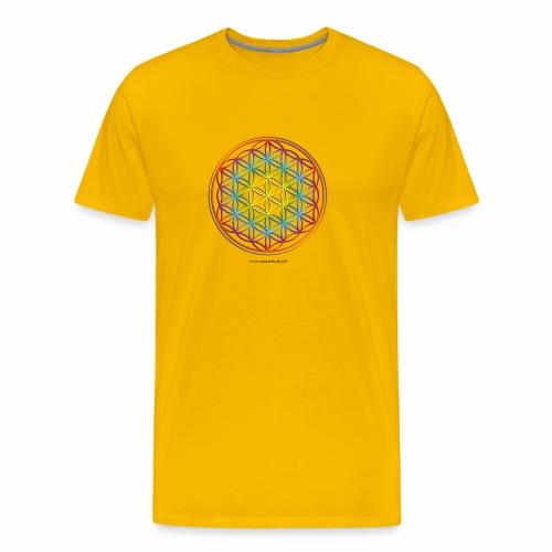 la fleur de vie - T-shirt Premium Homme