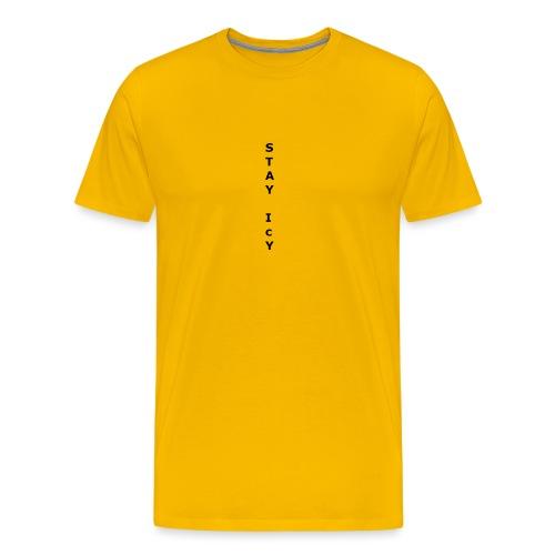 Stay Icy - Premium T-skjorte for menn