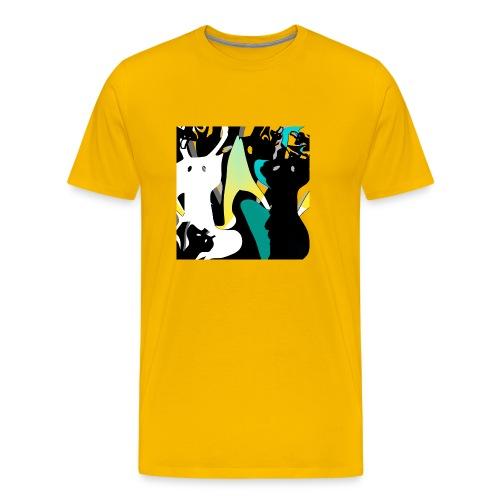 Dogs - IF Sabrina Imstepf Design - Männer Premium T-Shirt