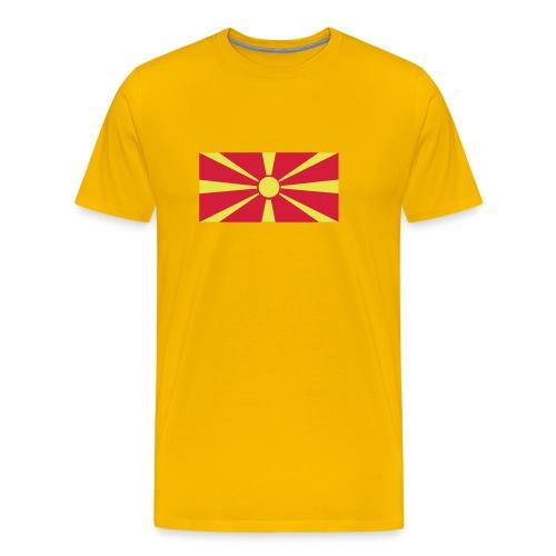 Macedonia - Mannen Premium T-shirt