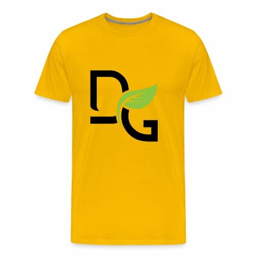 DrGreen Logo Symbol schwarz grün - Männer Premium T-Shirt