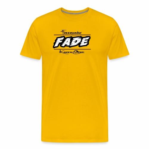 Fade KarerCulture Collection - Premium T-skjorte for menn