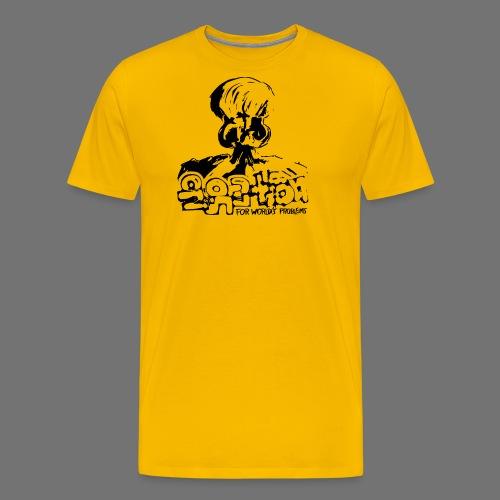 Nie Rozwiązanie (czarny) - Koszulka męska Premium