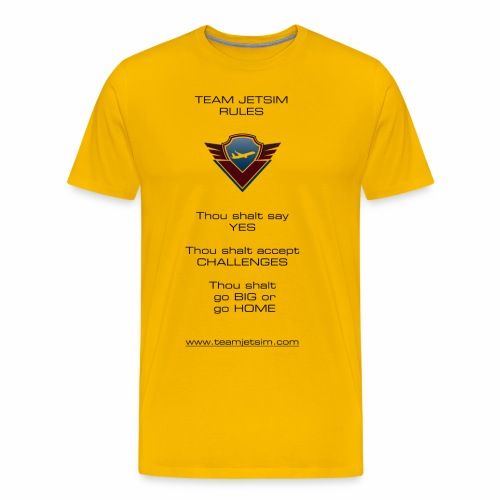 TJS RULES - Men's Premium T-Shirt
