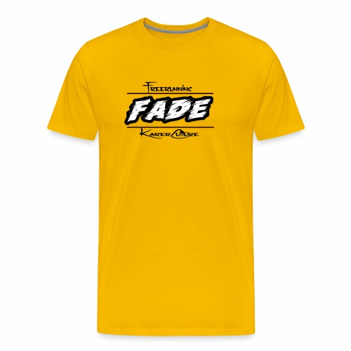Fade KarerCulture Collection - Premium T-skjorte for menn