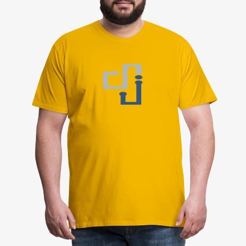 Amo la música DJ - Camiseta premium hombre