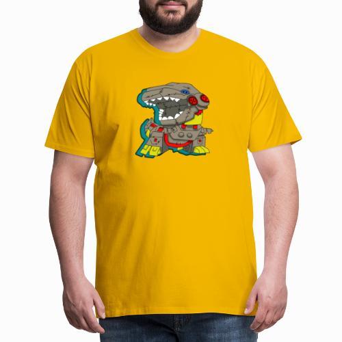 The Plushasaurus - Men's Premium T-Shirt