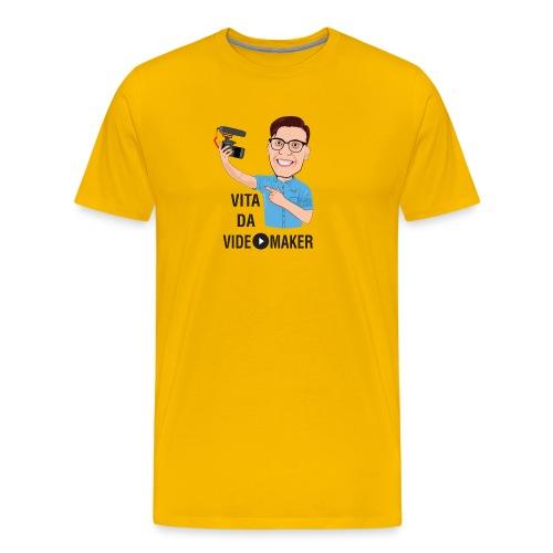Vita da Videomaker - Nero - Maglietta Premium da uomo