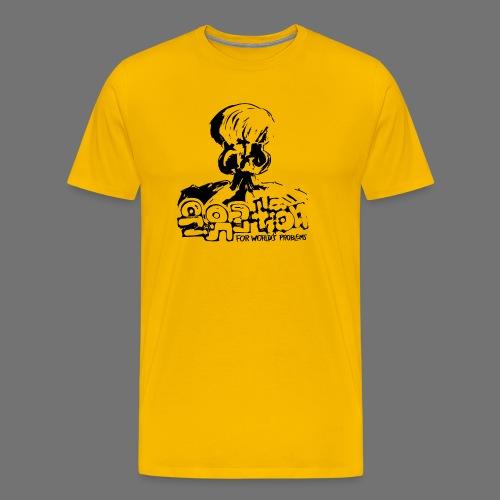 No Solution (black) - Men's Premium T-Shirt