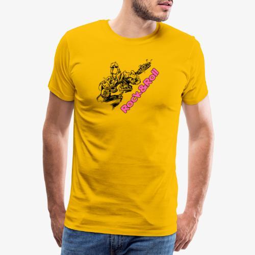 Rock 001 - Camiseta premium hombre
