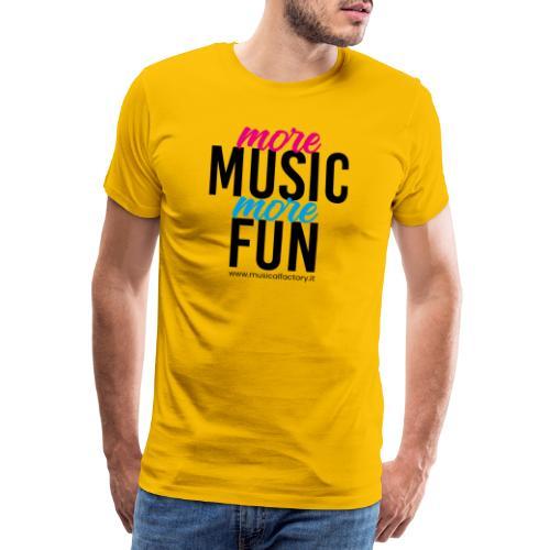 More Music More Fun - Maglietta Premium da uomo