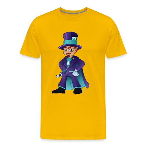 wizard - Herre premium T-shirt