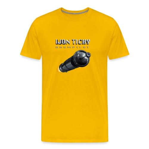 tichy t shirt rakete - Männer Premium T-Shirt