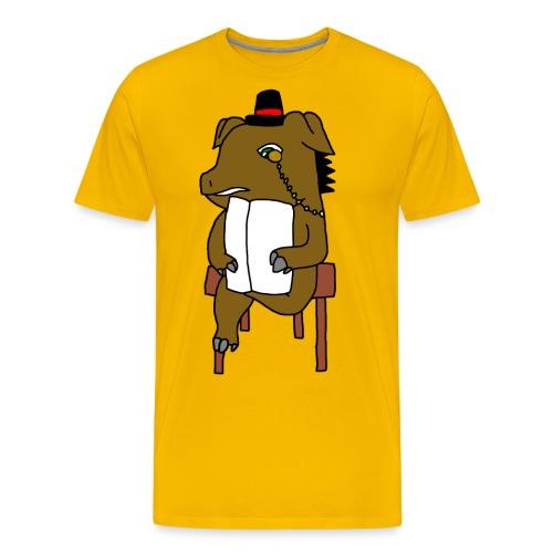 Newspaper - T-shirt Premium Homme