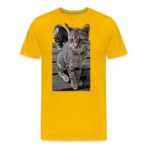 Katzenaugen - Männer Premium T-Shirt