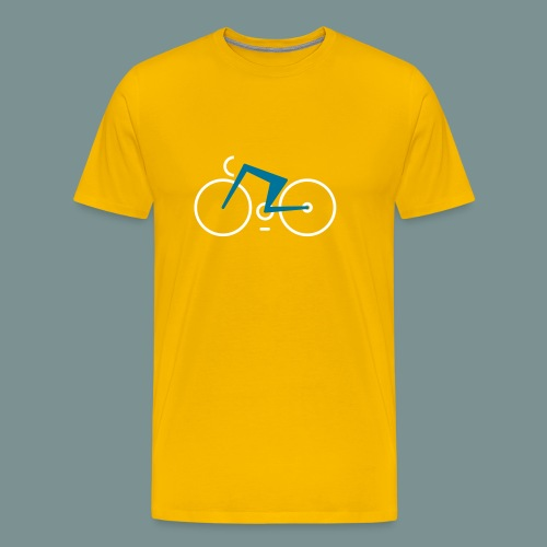 Bikes against cancer - Herre premium T-shirt
