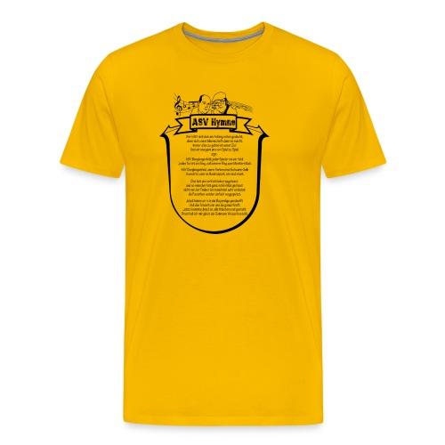ASV HYMEN B png - Männer Premium T-Shirt