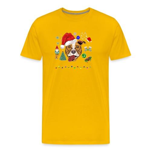 Merry Pitmas - Herre premium T-shirt