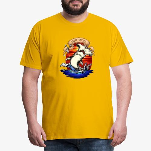 König des Ozeans - Männer Premium T-Shirt