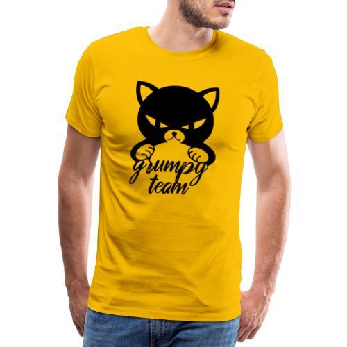 grumpy team - Männer Premium T-Shirt