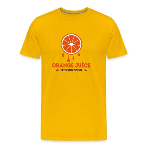 Orange Juice.eps - Mannen Premium T-shirt