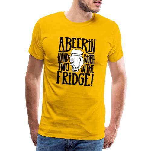 bière - T-shirt Premium Homme
