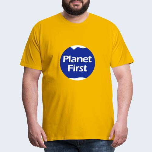 Planet First 2 - Mannen Premium T-shirt