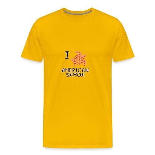 I Love American Samoa - Men's Premium T-Shirt