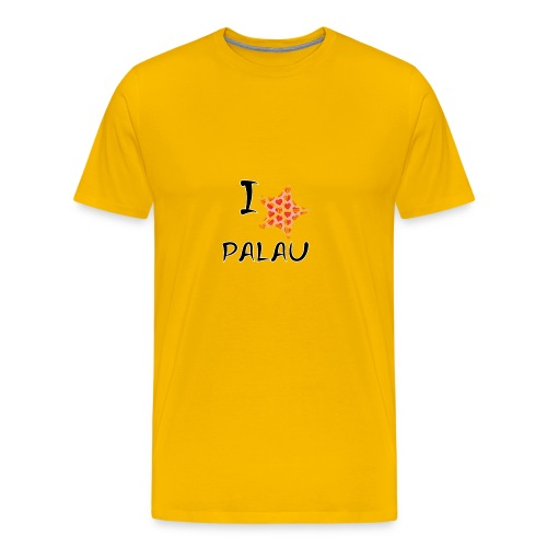 I Love Palau - Men's Premium T-Shirt