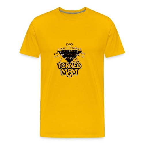 TorneoMGM 6 ed - Maglietta Premium da uomo