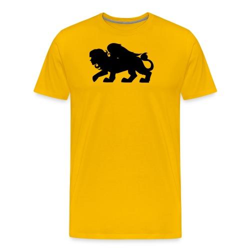 Sphynx Silhouette - Men's Premium T-Shirt