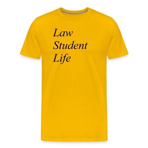 Law Student Life - Maglietta Premium da uomo
