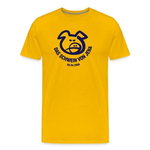 schwein von jena - Männer Premium T-Shirt