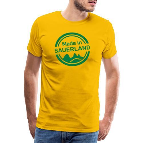 Sauerland Made - Männer Premium T-Shirt