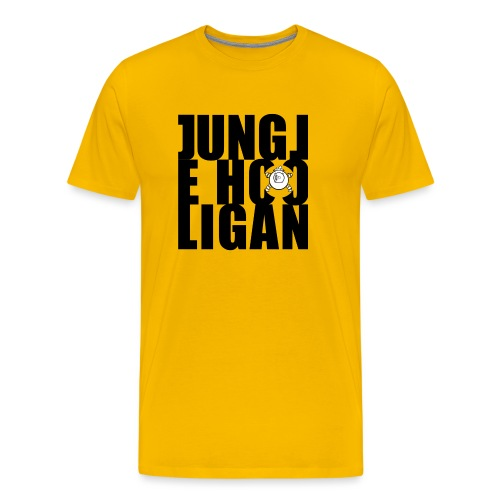 Jungle Hooligan Black - Männer Premium T-Shirt