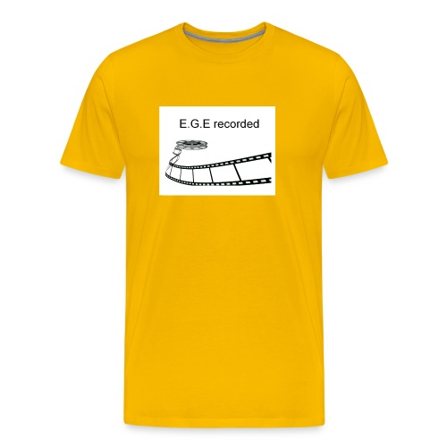 E-G-E_recorded_Prod - Männer Premium T-Shirt