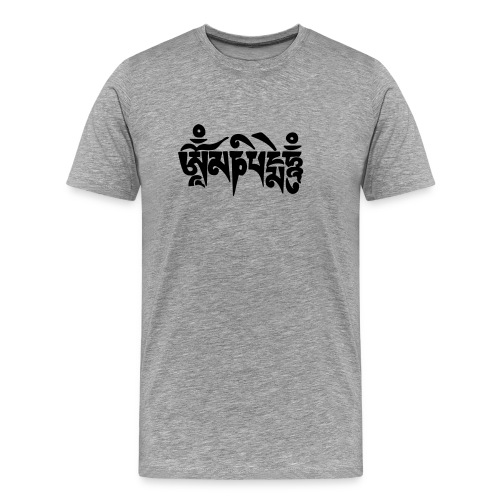 om mani padme hum - Männer Premium T-Shirt