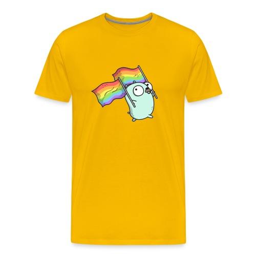 Pride Gopher - Männer Premium T-Shirt